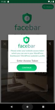 FaceBar - QR Code Based Login System for Websites screenshot 1