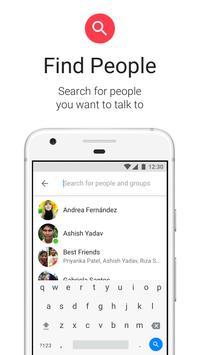 Messenger Lite captura de pantalla 6