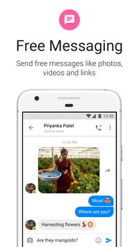 Messenger Lite الملصق