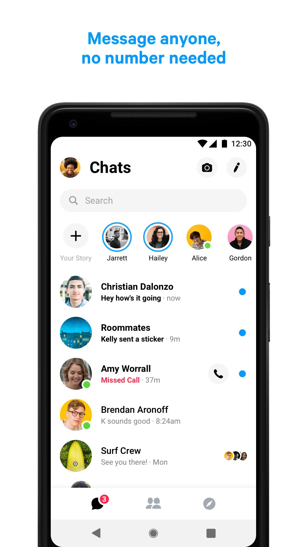 download messenger lite video call apk