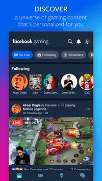 Facebook Gaming الملصق