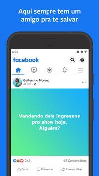 Facebook imagem de tela 2