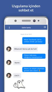 Facebook Lite Ekran Görüntüsü 1