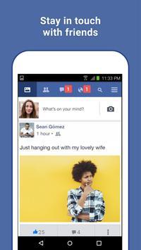 Facebook Lite capture d'écran 1