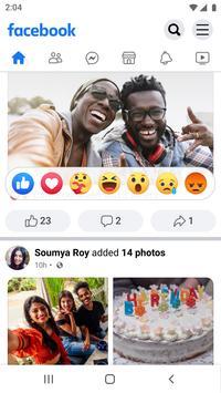 Facebook Lite screenshot 1