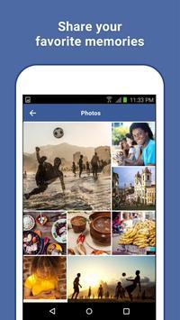 Facebook Lite capture d'écran 2