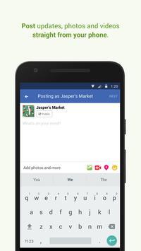 Facebook Pages Manager تصوير الشاشة 3