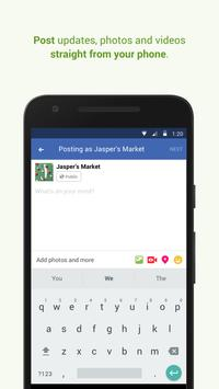 Facebook Pages Manager screenshot 3