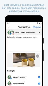 Facebook Business Suite syot layar 1