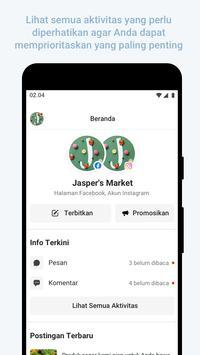 Facebook Business Suite syot layar 2