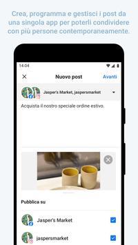 1 Schermata Facebook Business Suite