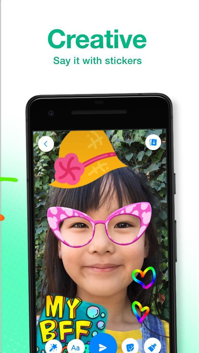 Messenger Kids poster