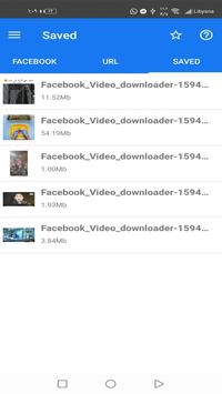 BOKI: फेसबुक से वीडियो डाउनलोड करने वाला ऐप - तेज स्क्रीनशॉट 1