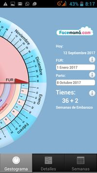 Pregnancy Weeks Calculator by Facemama poster