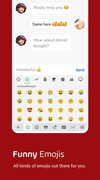 Facemoji Keyboard Lite screenshot 1