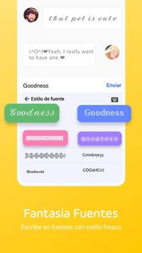 Teclado Emoji Facemoji Lite - Emojis, Temas, GIF captura de pantalla 2