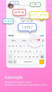 Teclado Emoji Facemoji Lite - Emojis, Temas, GIF captura de pantalla 3