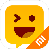Facemoji输入法小米版 - 表情符号、DIY键盘主题、表情包、GIF、表情智能预测 图标