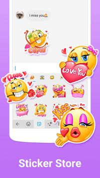 Facemoji Keyboard Lite for Xiaomi screenshot 2