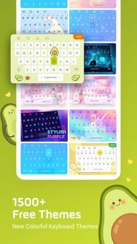 Facemoji Emoji Keyboard for Xiaomi - Font & Theme 스크린샷 2
