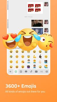 Facemoji Emoji Smart Keyboard-Themes & Emojis الملصق