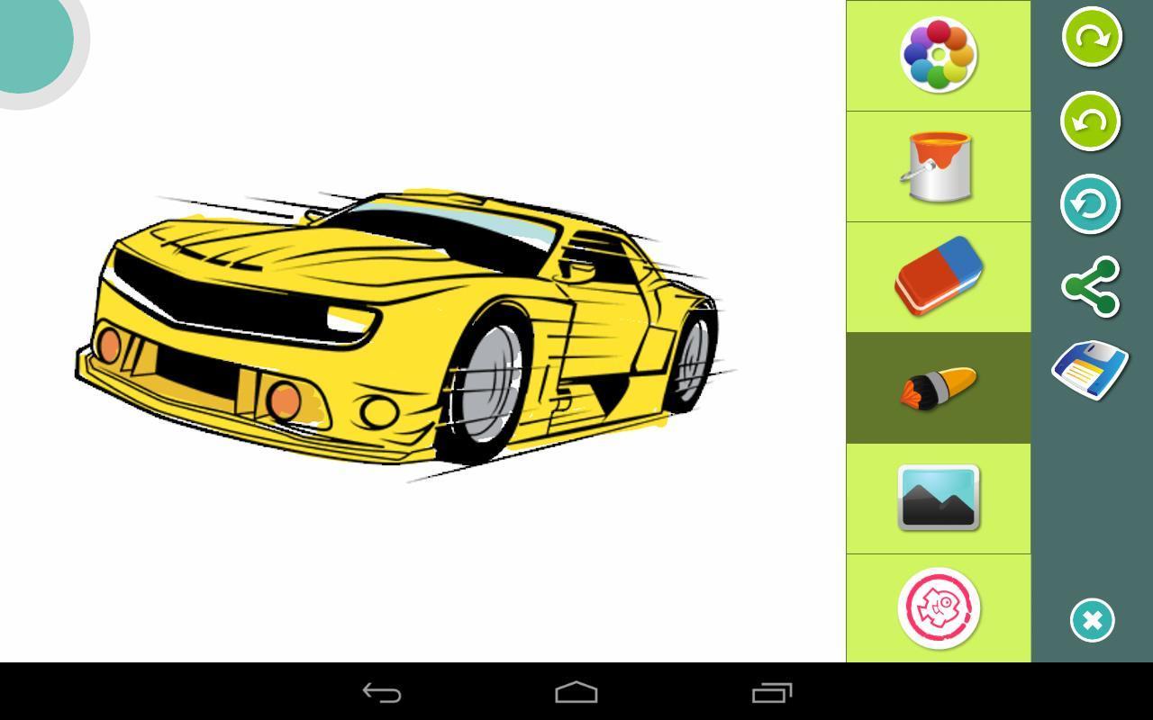 Autos Ausmalbilder Für Android Apk Herunterladen
