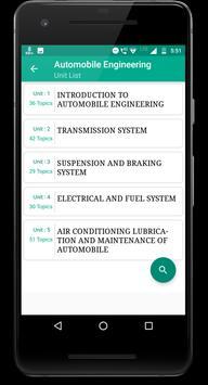 Automobile Engineering screenshot 1