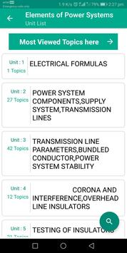 Elements of Power Systems screenshot 1