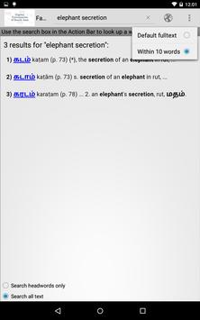 Fabricius Tamil and English screenshot 3