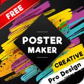HD Poster Maker : Banner, Card & Ads Page Designer icon
