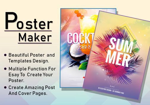 HD Poster Maker : Banner, Card & Ads Page Designer poster