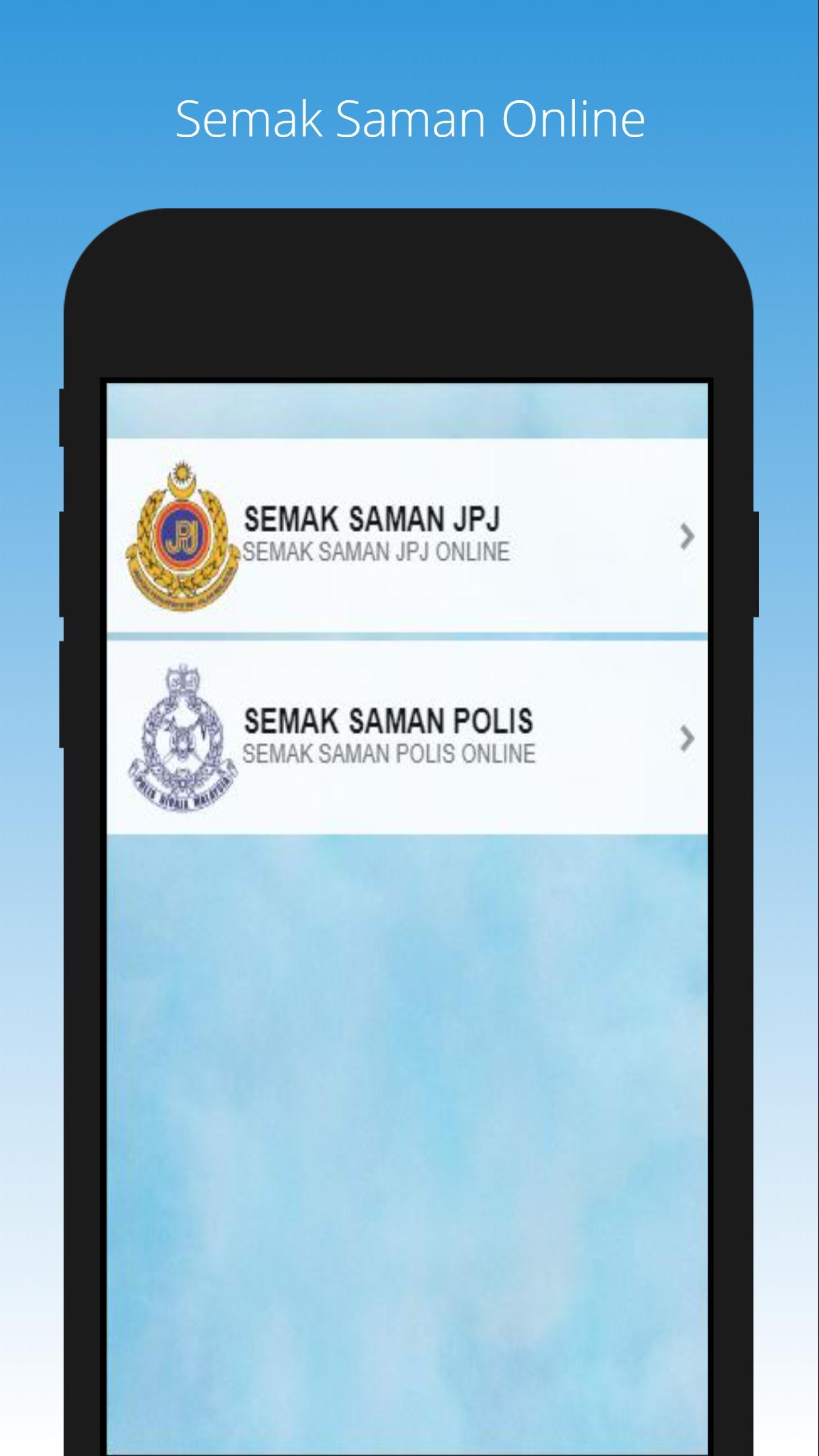Semak Saman Polis Jpj Dan Parking Online For Android Apk Download