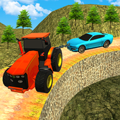 Offroad Chained Tractor Towing Car 2019 icon