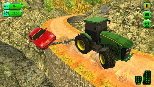 Offroad Chained Tractor Towing Car 2019 screenshot 2