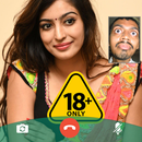 Hot Indian Girlfriend Fake Chat Video Call APK Android