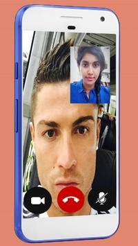 Fake Video Call Ronaldo - Fake Video Call poster