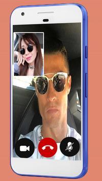 Fake Video Call Ronaldo - Fake Video Call screenshot 1