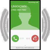 Fake call - prank ikon