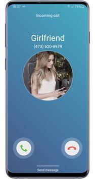 Fake call girlfriend prank screenshot 3