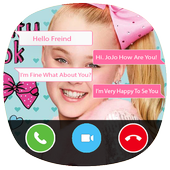 Game Chat With Blond Girl simulator - Joke icon