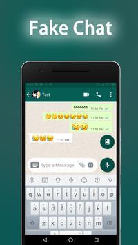 WhatsFake  -  Fake Chat Conversations الملصق