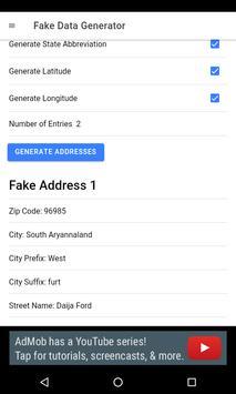 Fake Data Generator poster