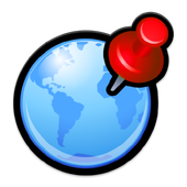 Fake gps - fake location icon