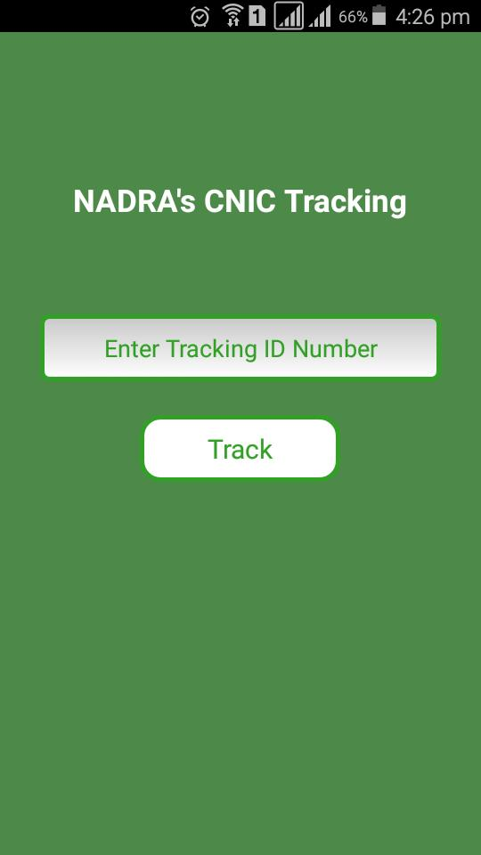 Pak Cnic Tracking for Android - APK Download