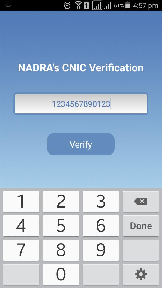 Pak CNIC Verification for Android - APK Download