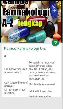 Kamus Farmakologi A-Z screenshot 2