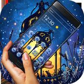 Fairy Tale Magic Lamp Art Theme icon