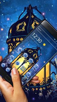 Fairy Tale Magic Lamp Art Theme poster