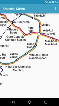 Brussels Metro screenshot 2
