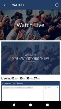 Covenant City Church screenshot 2